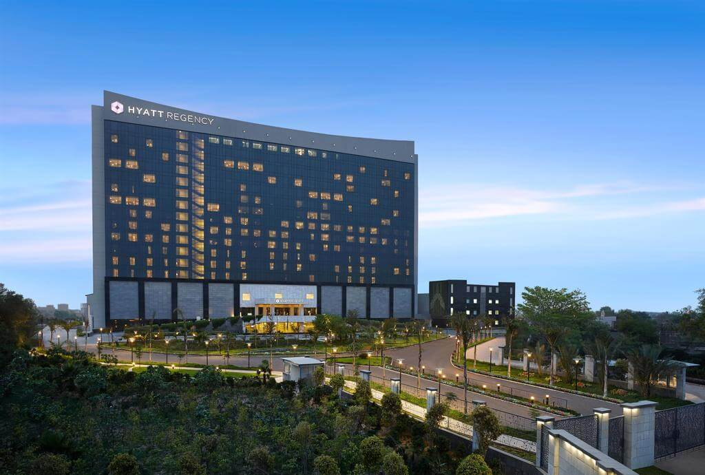 luxury holiday at Hyatt Regency Gurgaon